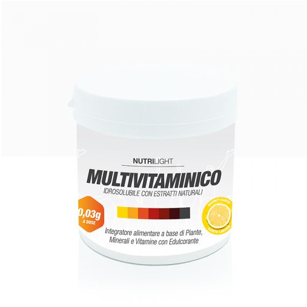 Multivitaminico Idrosolubile - Limone 270 gr