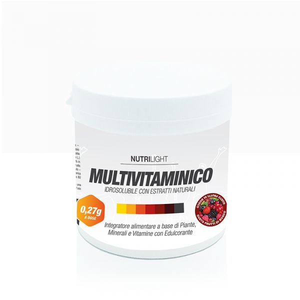 Multivitaminico Idrosolubile - Frutti di bosco 270 gr