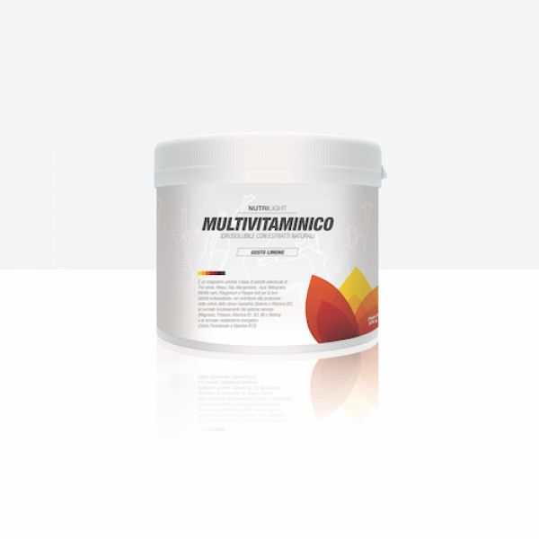 Multivitaminico idrosolubile - Fragola 270 gr